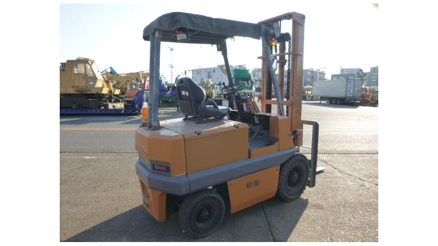 Shinko antique electric forklift