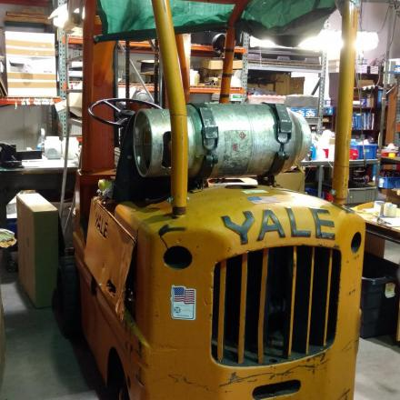 Yale LPG Forklift in South Plainfield New Jersey
