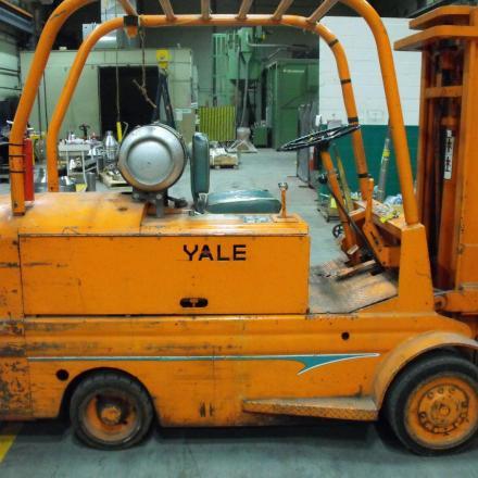 Yale Forklift vintage 1968